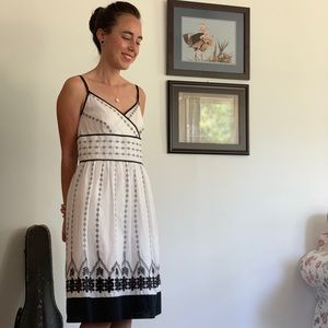 Ann Taylor Embroidered Dress, Size 2